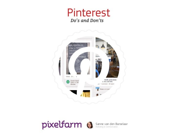 Pinterest Do's and Don'ts