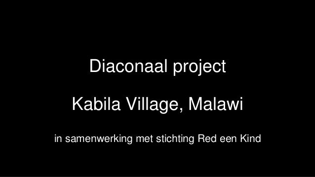 Presentatie project kabila village   12 jan