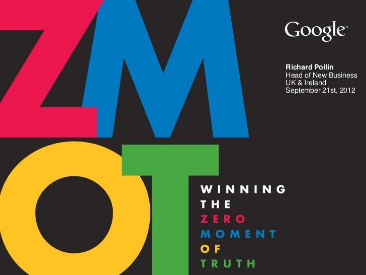 Google ZMOT presentation