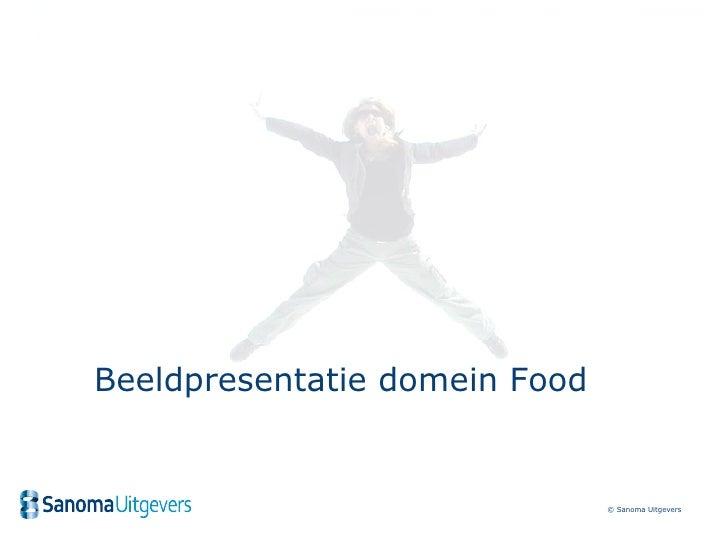 Beeldpresentatie domein Food