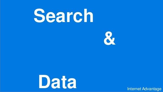 Presentatie search & data