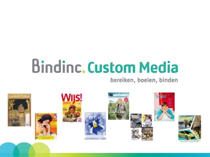 Bindinc. (voorheen Programmabladen AKN)•   Uitgaven van Bindinc. zijn:     • De 6 programmabladen voor AVRO, KRO en NCRV. ...