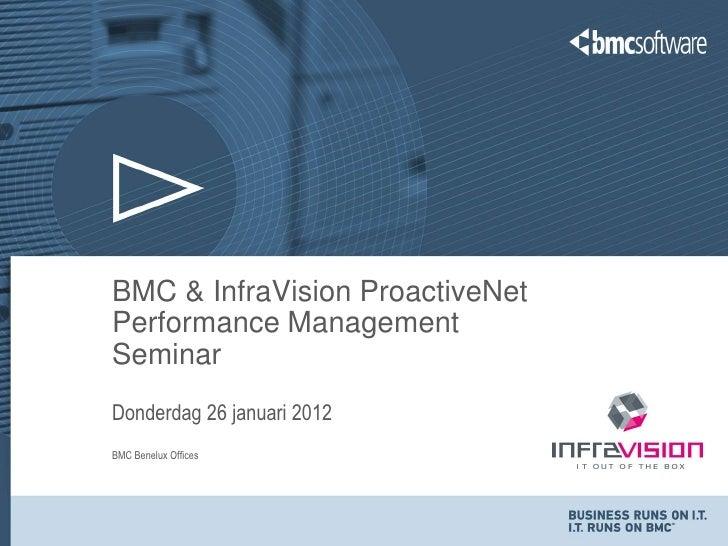 Seminar ProactiveNet jan2012