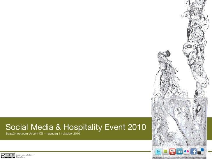 Social Media & Hospitality Event