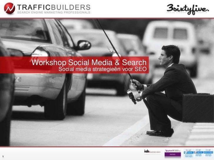 Social Media & Search: de synergie tussen social en SEO (zoekmachine-optimalisatie)