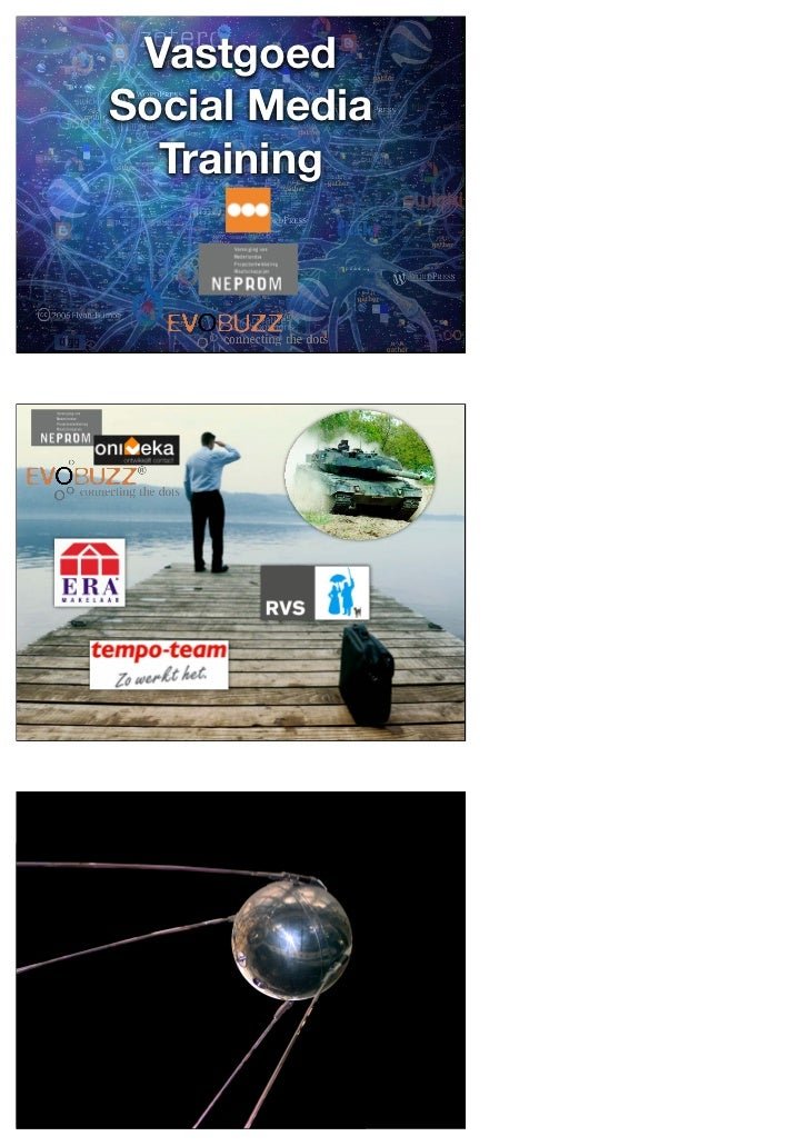 Social Media Vastgoed Training Arjan Terpstra 17-06-11