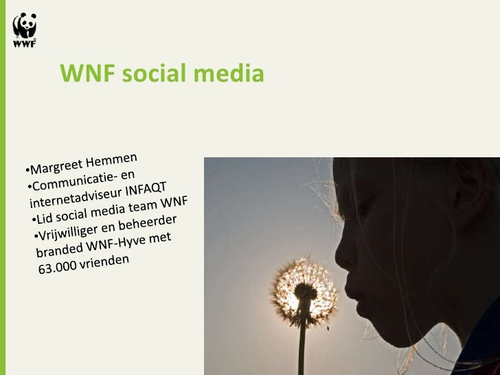 WNF social media