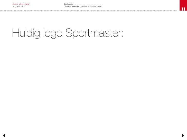 Presentatie Sportmaster