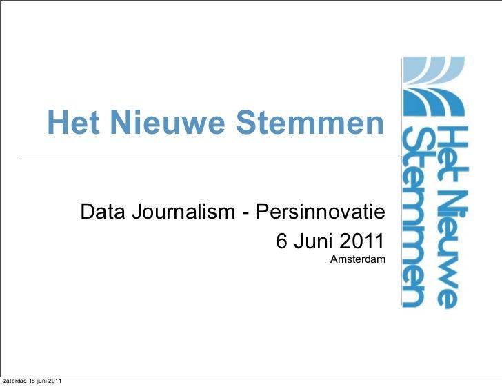 Presentatie themasessie Datajournalistiek