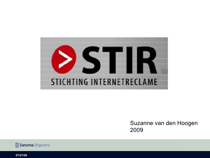 Presentatie Stir 2009