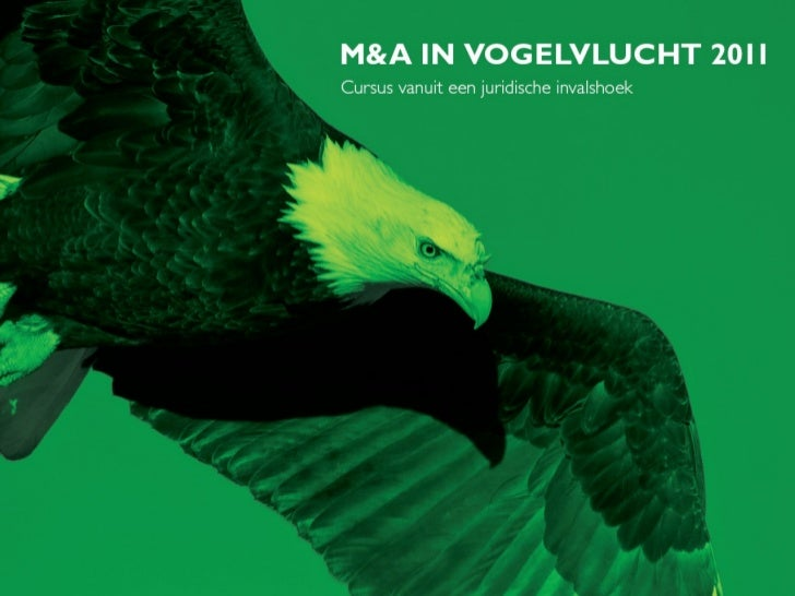 M&A in Vogelvlucht 2011 - Corporate Governance en M&A