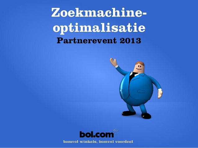bol.com Partner Event 2013 - Tom Smits