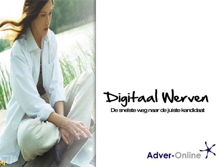 Presentatie Adver Online