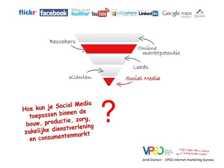 Presentatie Jordi Damen (VPSO) tijdens social media symposium