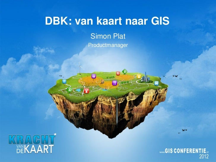 DBK: van kaart naar GIS, Esri Nederland