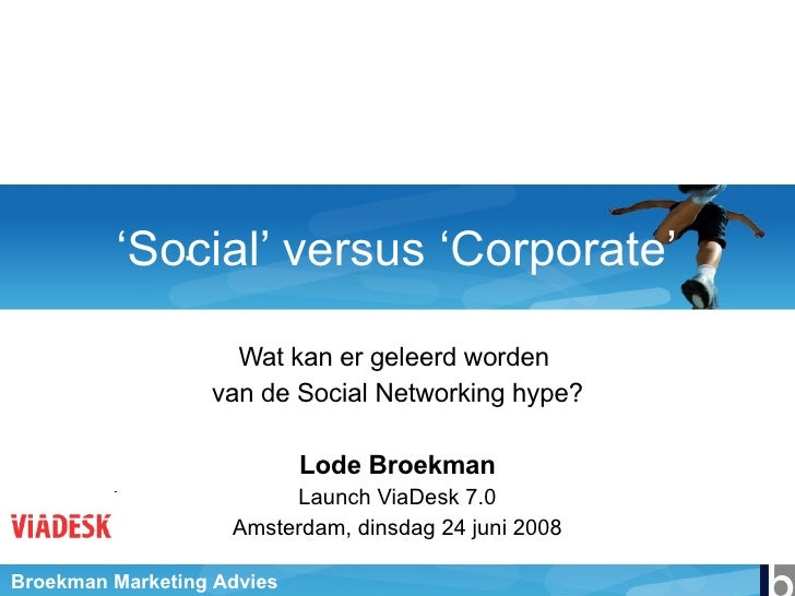 Presentatie Via Desk 24062008