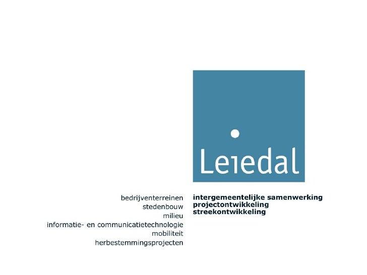 Kennis delen is samen werkenOf waarom Leiedal nooit de webcam zou uitvinden.                            Kennisdag: Het nie...