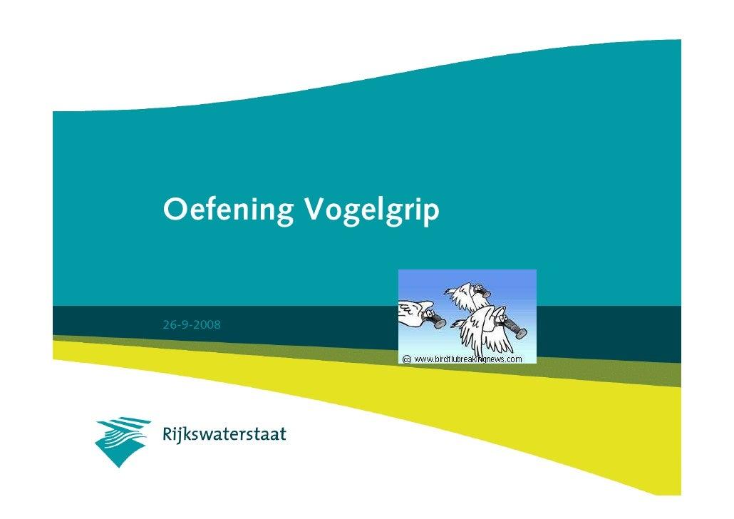 Presentatie Vogelgrip