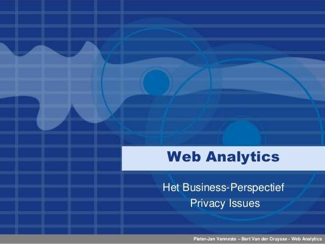 Presentatie Webanalytics (2009)