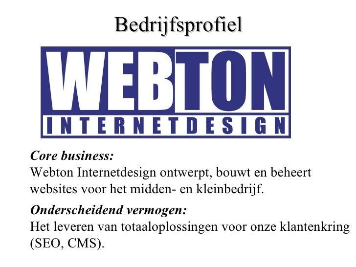Webdesign begint bij Webton.nl
