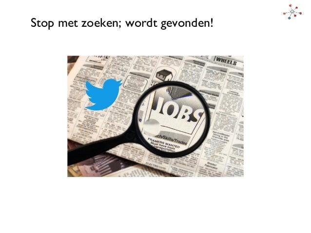 Presentatie: een baan vinden via Social Media: Linkedin en Twitter voor werk55+ - dag 1