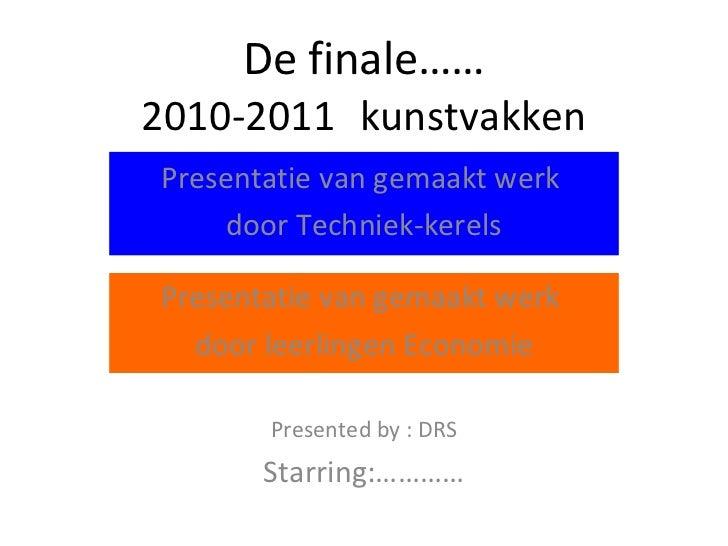 Presentatie werk tn ec deel 1 2010-2012