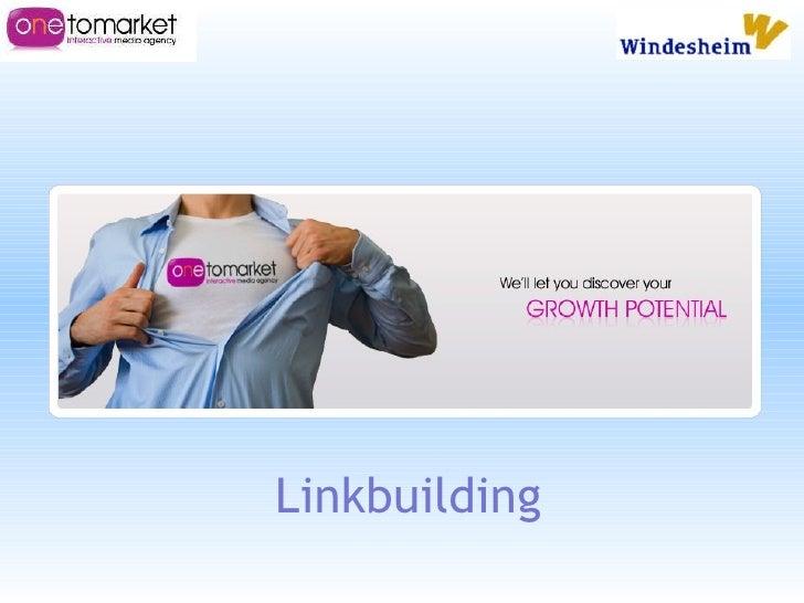 Presentatie windesheim linkbuilding