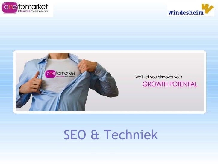 Presentatie #windesheim zoekmachine optimalisatie