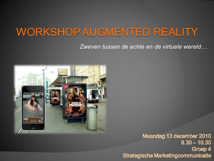 Augmented Reality Workshop