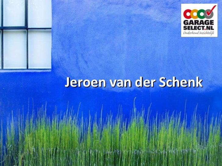 Jeroen van der Schenk