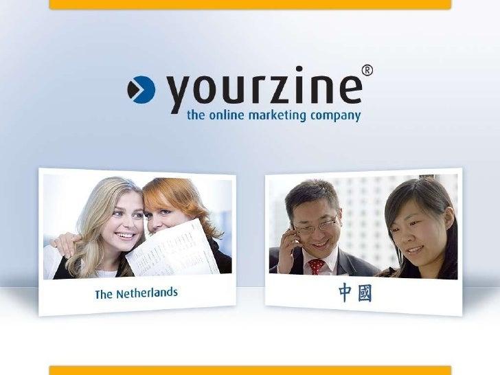 Presentatie Yourzine  Linked In