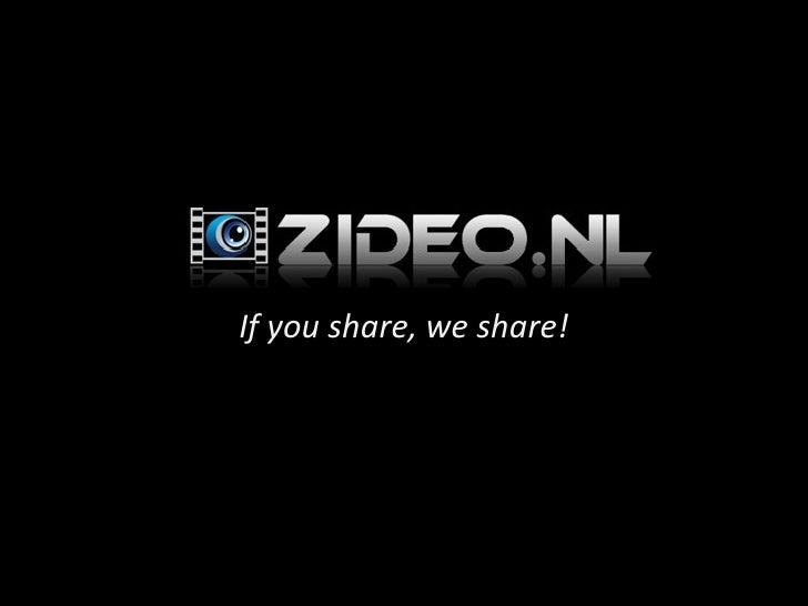 <ul><li>If you share, we share! </li></ul>