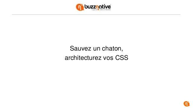 Sauvez un chaton, architecturez vos CSS