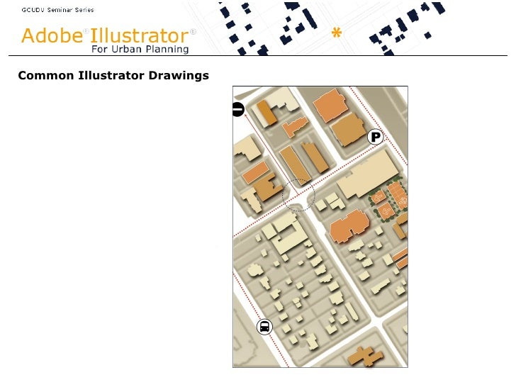 Adobe Illustrator Graphics for Urban Planning