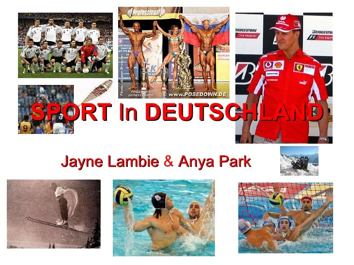Jayne   Lambie  &  Anya   Park SPORT   In   DEUTSCHLAND