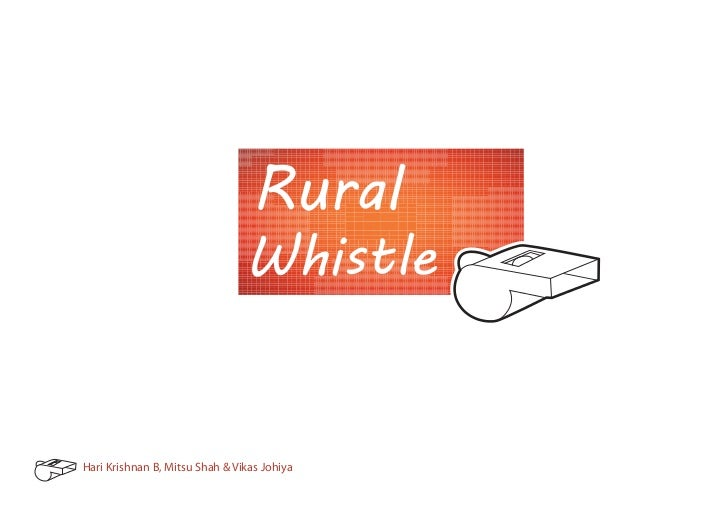 Rural Whistle