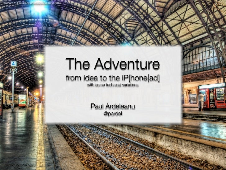 The Adventure - From idea to the iPhone