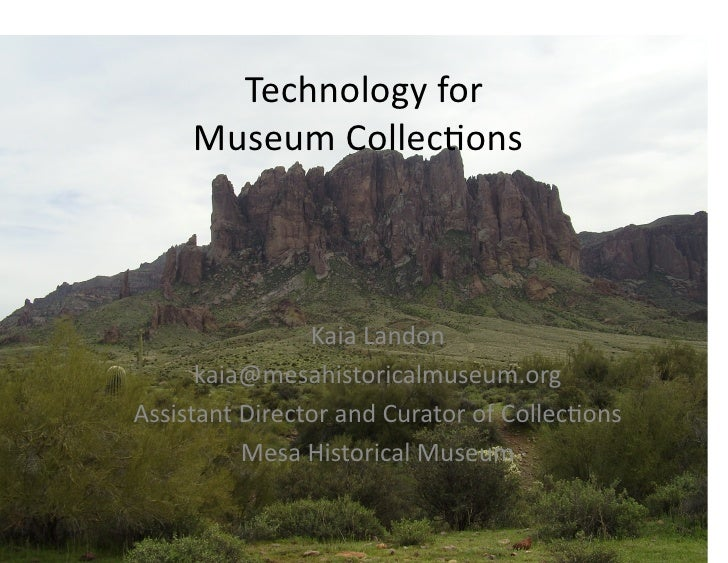 Museum Collections Management and Online Exhibit Software