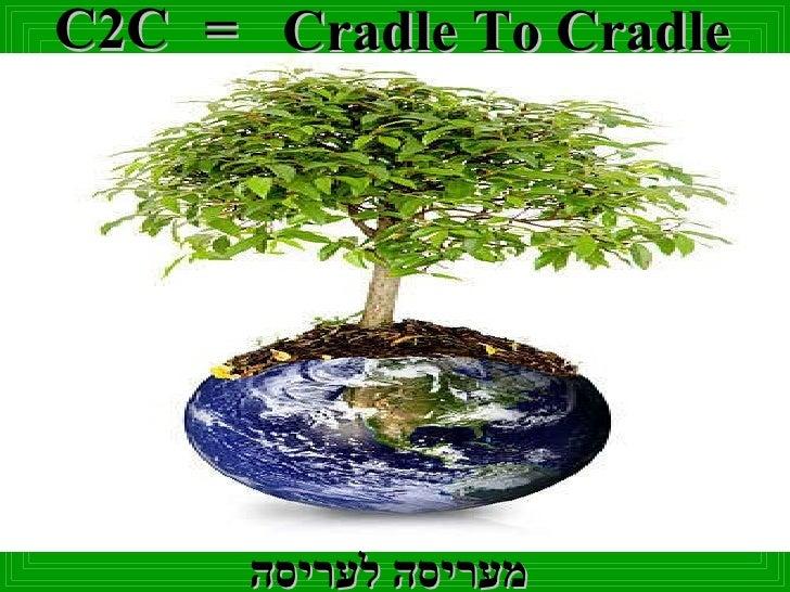 C2C = Cradle To Cradle מעריסה לעריסה