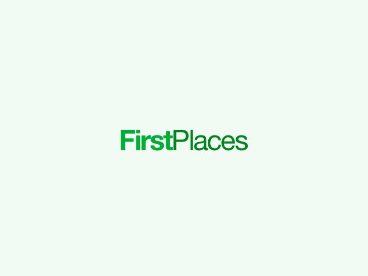 First Places