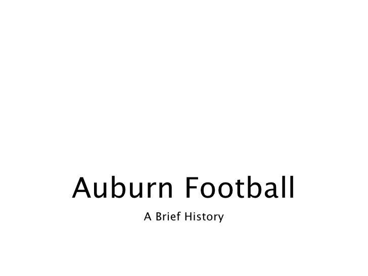 auburn history