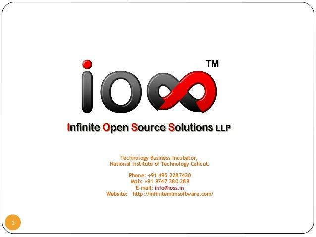 Technology Business Incubator, National Institute of Technology Calicut. Phone: +91 495 2287430 Mob: +91 9747 380 289 E-ma...