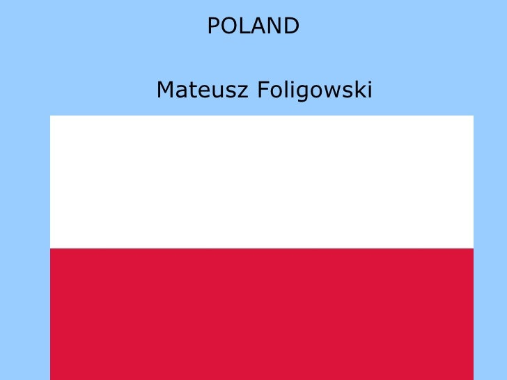 POLAND Mateusz Foligowski