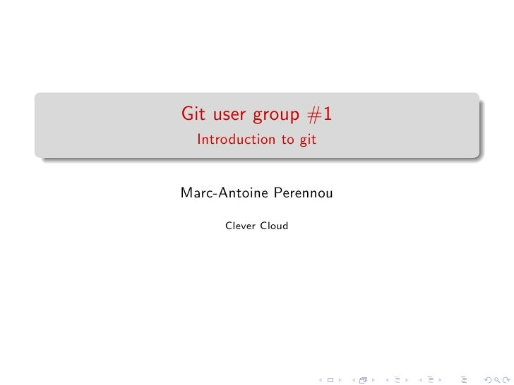 Gug #1 - Introduction to git