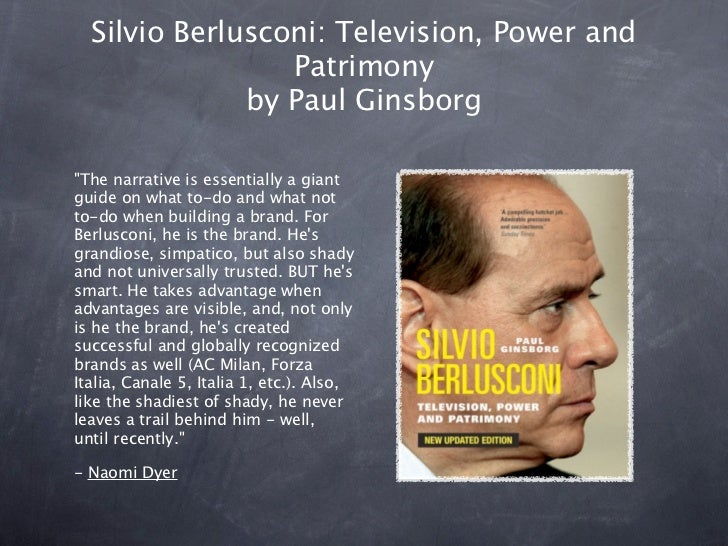 silvio berlusconi a great leader essay We do not trust--and with good reason--either our elected leaders --prime minister silvio berlusconi debasing the system of peer review of scientific papers.