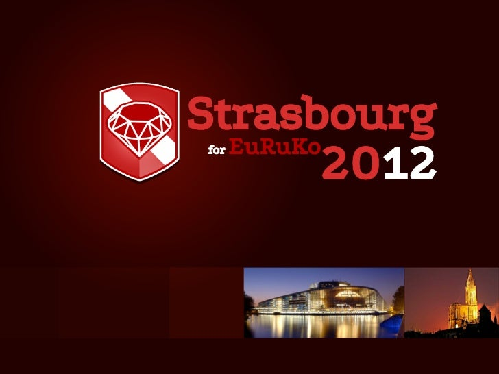 Strasbourg  EuRuKo for         2012