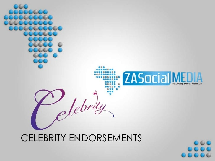 ZASocial Media Celebrity Endorsements