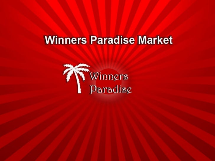 Winners Paradise Presentation
