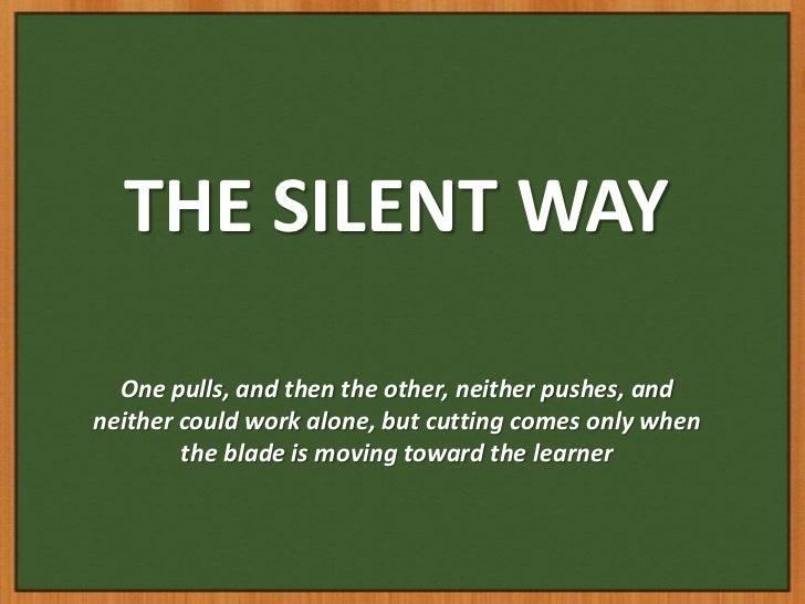 Silent Way Teaching Method