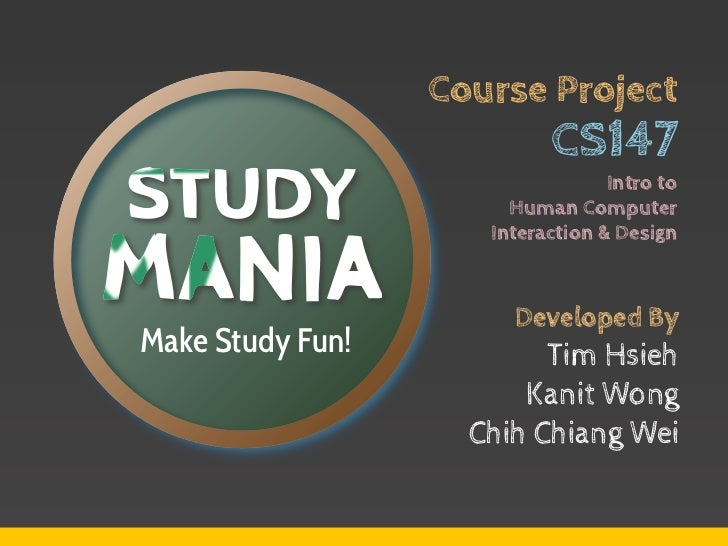 Course Project                           CS147                                  Intro to                       Human Compu...